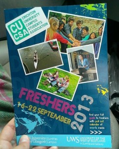 Countdown to Freshers 2013