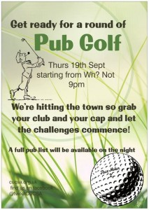 Pub Golf 19th