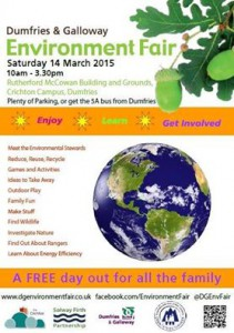 Volunteer Opportunity – D&G Environmental Fair