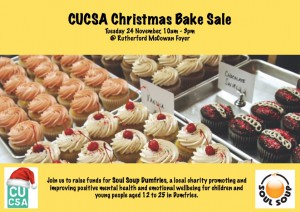 CUCSA Christmas Charity Bake Sale