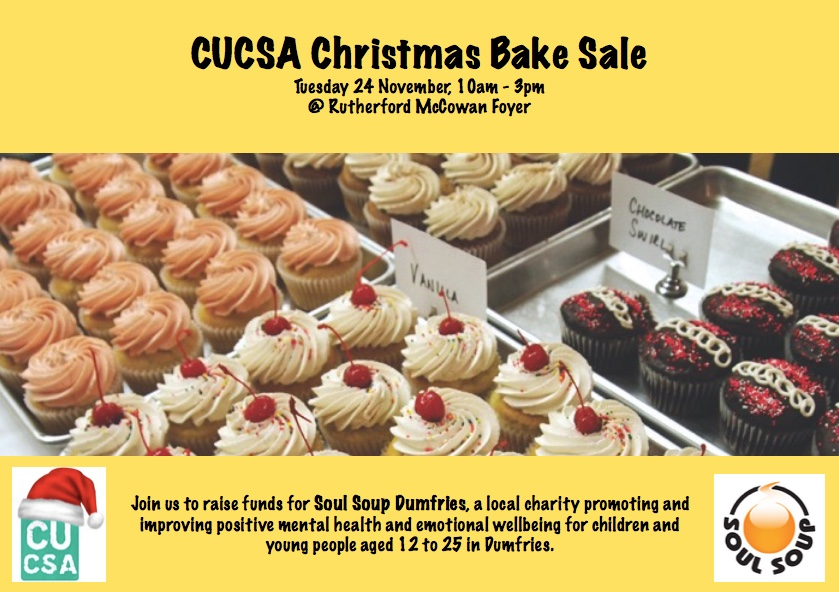 CUCSA Christmas Charity Bake Sale   CUCSA