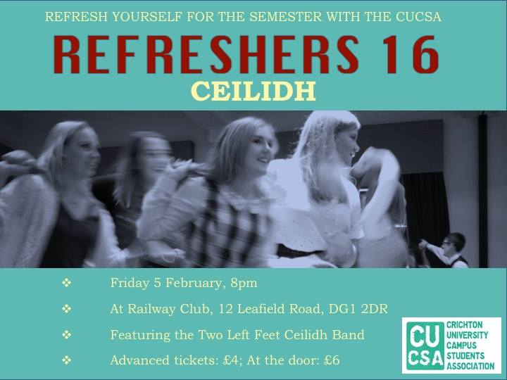 Refresher's Ceilidh