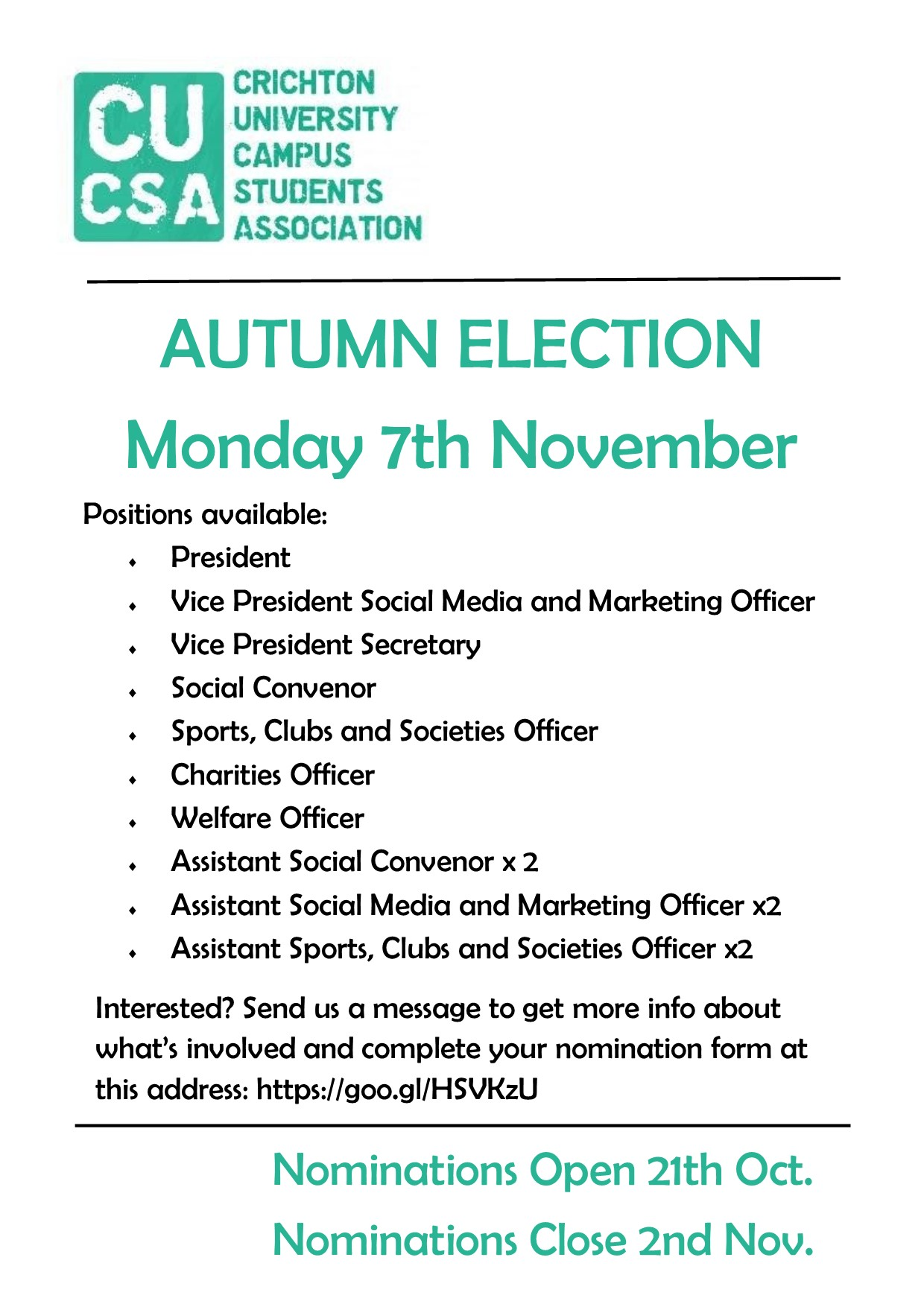 cucsa-autumn-election-2016