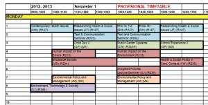 University Timetables