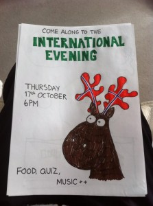 International Evening – 17/10/13