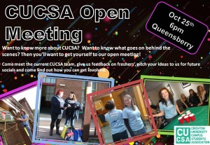 CUCSA Open Evening