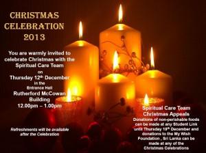 Christmas Celebration – 12/12/13
