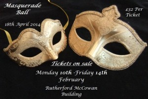 CUCSA Ball – Tickets now on Sale