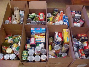 Food Bank Donations Welcomed