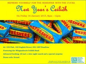 CUCSA New Year's Ceilidh