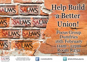 SAUWS Dumfries Campus Feedback (UWS)